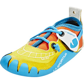 La Sportiva Gripit Climbing Shoes Children yellow/turquoise
